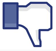Facebook'owe porażki